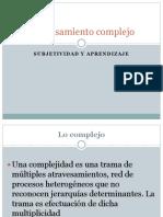 Complejidad Subjetividad y Aprendizaje