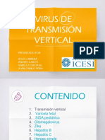 VIRUS DE TRANSMISION VERTICAL