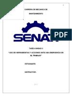 Unidad 3 - seguridad senati