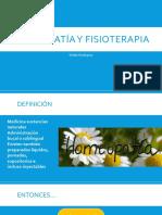 Homeopatía y Fisioterapia