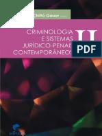Ruth Maria Chittó Gauer - Criminologia e Sistemas Jurídico-Penais Contemporâneos - Volume II - Ano 2010.pdf