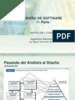 1 Diseño de Software