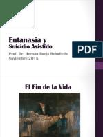 Eutanasia - Suicidio Asistido 2015 - DeF