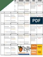 FNT OCT Classes