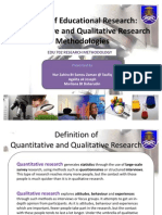 Types of Educational Research