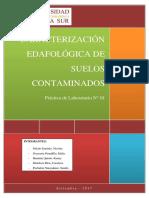 LAB01- Caracterización de muestras de suelo contaminado