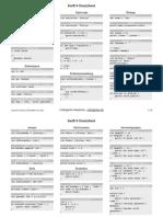 Cheat Sheet for Swift 4