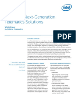 Designing Next Generation Telematics Solutions
