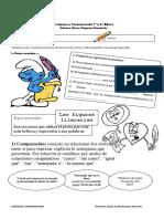 Género Lírico Guía 3 - Figuras Literarias