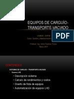 Equipo Pesado _ Mecanizacion Minera