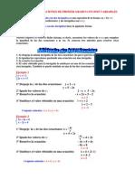 Ecuaciones Con Dos Variables