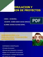 ECONOMIA-Formulacion y Evaluacion de Proyectos