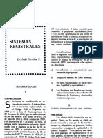 Sistemas Registrales