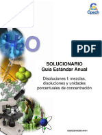 2016 Solucionario Clase Disoluciones I Mezclas, Disoluciones, y Unidades Porcentuales de Concentración-1