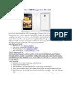 Cara Flash Oppo Find Muse R821 Menggunakan Flashtool