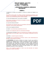 Gabarito - Tarefas - Primeiro Ano - Volume 032910200922529