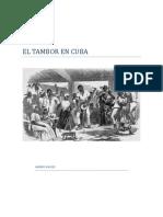 El Tambor en Cuba