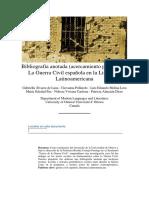 La Guerra Civil Española en La Literatura Latinoamericana