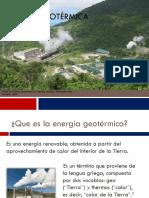 Energía Geotérmica - Fisicaa III