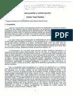 1.7. Culturas juveniles y cultura escolar. Emilio Tenti Fanfani.pdf
