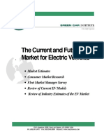 The Current and Future Market for Electric Vehicles Report