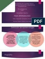 Epistemologia- Etica Profesional