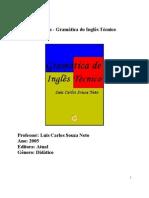 Gramática de Inglês Técnico