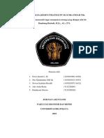 Analisis Manajemen Strategi Pt Mayora Indah Tbk