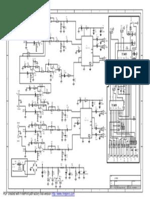 Logitech X 530 Wiring Diagram