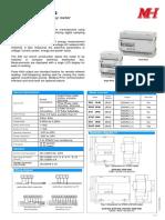 MH SFERE Dseries KWh Meter (Catalog ) v4