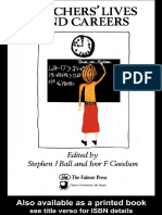 Stephen Ball-Teachers' Lives and Careers (Issues in Education and Training Series, 3) (1985)