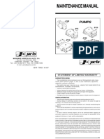 Jacto JP Pump Repair Manual