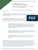 objetivos y funciones del estado