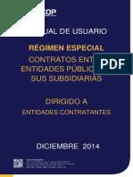 Regimen Especial Contratos Entre Entidades Publicas o Sus Subsidiarias - Entidades Contratantes