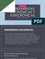 Herramientas Sincrónicas y Asincrónicas presentación en PowerPoint