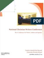 National Christian Writers Program & Author Tips