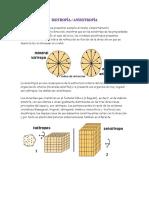 Anisotropía, Isotropía, Piroelectricidad, Piezoelectricidad