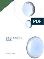 Balance de Bronce a Retador 4
