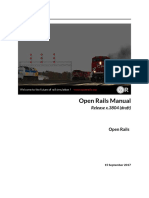 OpenRails Testing Manual