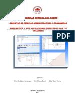 Matemática y sus aplicaciones empleando las TIC Volumen I