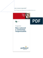 Gas Natural - Gas Natural y Consumo Responsable - CEADS 2010