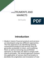 Instrumen and Market