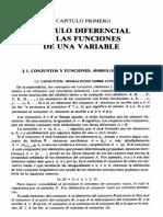 Kudriavtsev Análisis matemático 1er capitulo