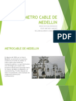 Metro Cable de Medellin Expo Transito