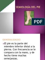 Semiología Del Pie