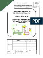 05 - Diagnóstico y Control de La Operación de Un Sistema Hidráulico - 2017.2