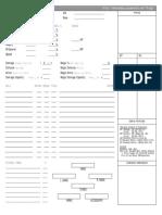 Final Fantasy - Character Sheet