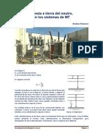 Puesta a tierra del neutro, en los Sistemas de MT.pdf