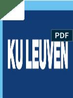 Kuleuven CMYK Logo