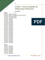 Indice - Geneide Ferreira – Curso Completo de Gramática Para Concursos